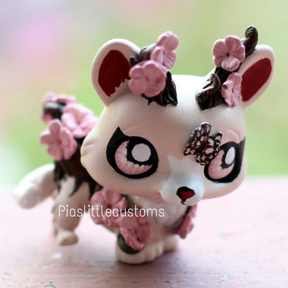 Custom 176 sakura earth dragon featuring sakura flowers made from a